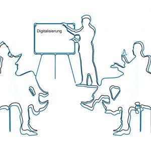 Grafik Diskussionsgruppe Digitalisierung
