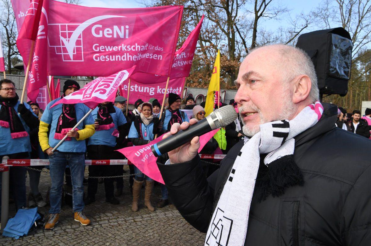 Gewerkschaft Streik GeNi