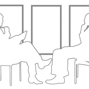 Grafik Menschen Diskussion Dialog